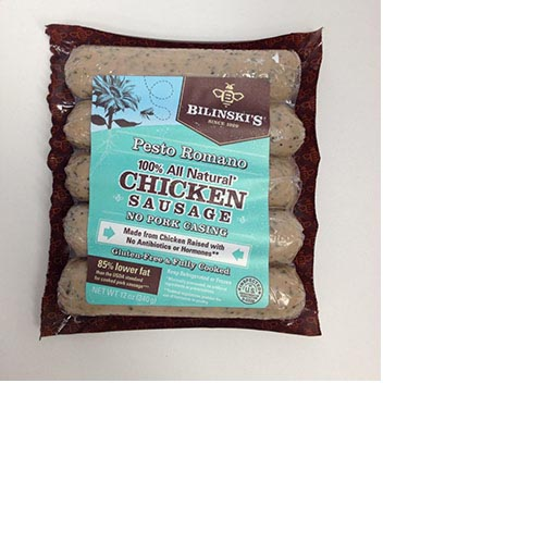 Bilinski's All Natural Chicken Sausage - 12oz, , large