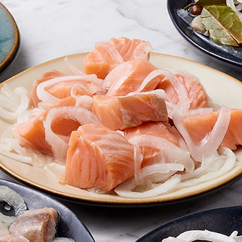 Pickled Lox in Clear Sauce - 8oz, , large