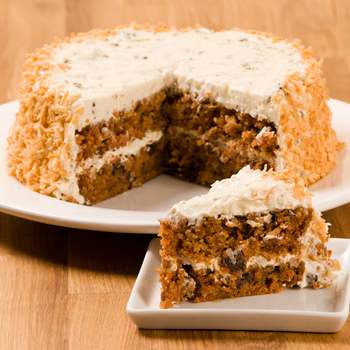 "Carrot Spice Layer 7"" Cake (Kosher-Dairy)"
