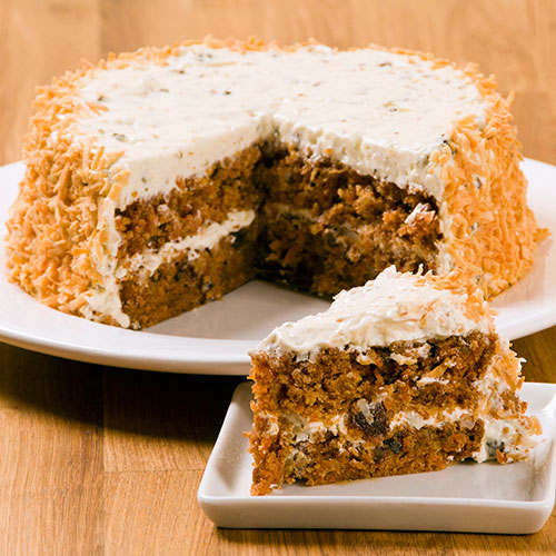 "Carrot Spice Layer 7"" Cake (Kosher-Dairy), , large"
