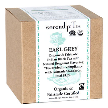 SerendipiTea Organic Earl Grey Tea 4oz, , large