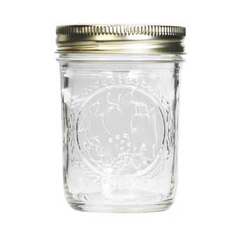 Ball Half-Pint Regular Mouth Canning Mason Jar #B60-S, , large