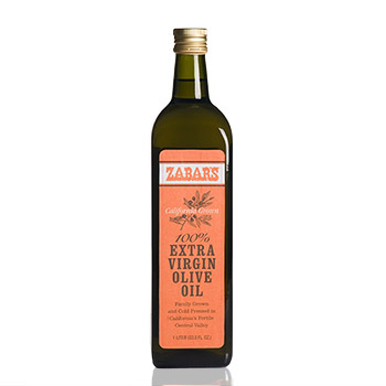 Zabar's California Extra Virgin Olive Oil - 33.8oz (Kosher), , large