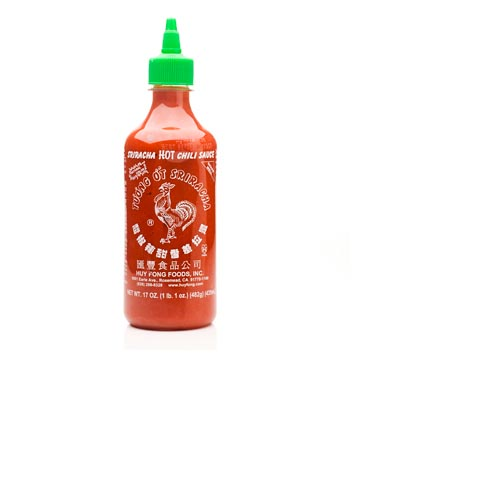 Sriracha Hot Chili Sauce - 17oz, , large
