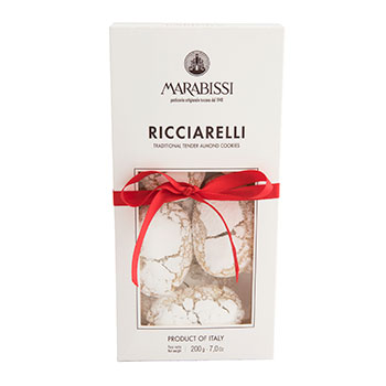 Marabissi Ricciarelli Traditional Tender Almond Cookies - 7oz, , large
