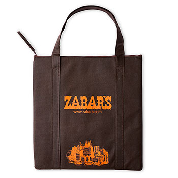 Zabar's Small Insulated Flat Tote (14x15), , large