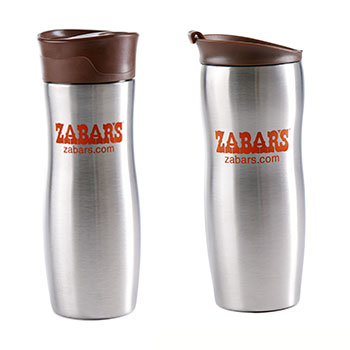 Zabar's Stainless Steel Travel Mug