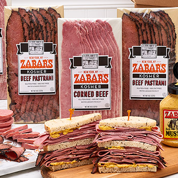 Zabar's Prepack Corned Beef 8oz (Kosher), , large