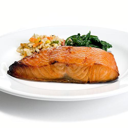 Honey Broiled Salmon by Zabar's - min. wt. 8oz, , large