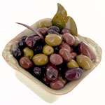 Greek 5-Types Mixed Olives - 10oz