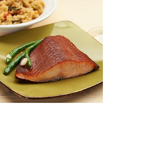 Grilled Salmon by Zabar's - 1/2-lb min. wt., , large