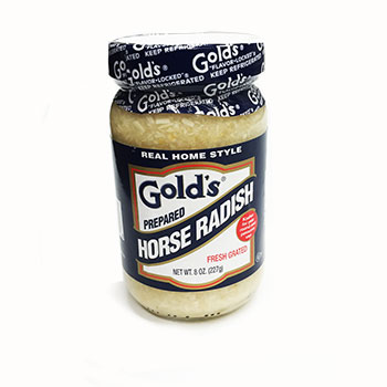 Gold's White Horse Radish - 8oz  (Kosher), , large