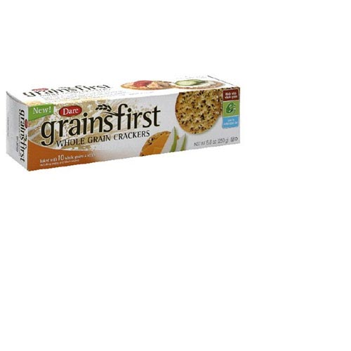Grainfirst Whole Grain Crackers - 8.8oz (Kosher), , large