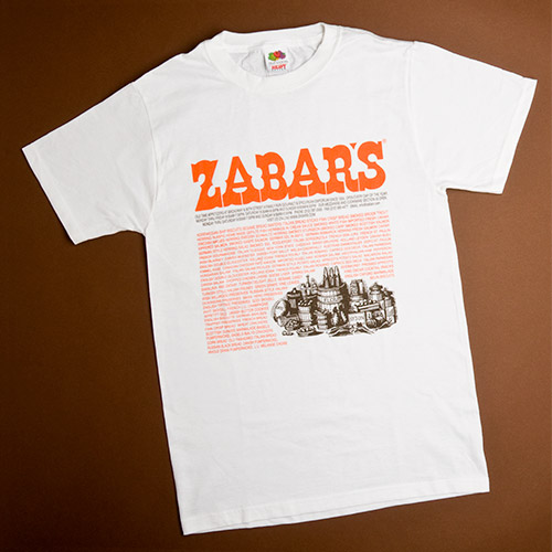 Zabar's Adult Shopping Bag T-Shirt, , large