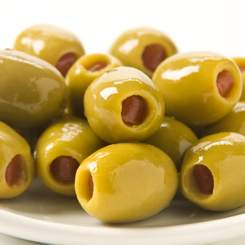 Green Olives with Pimientos - 10oz, , large