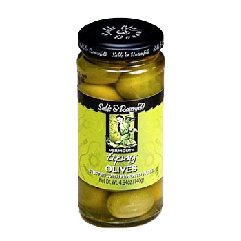 Sable & Rosenfeld Vermouth Tipsy Olives - 4.94 oz, , large