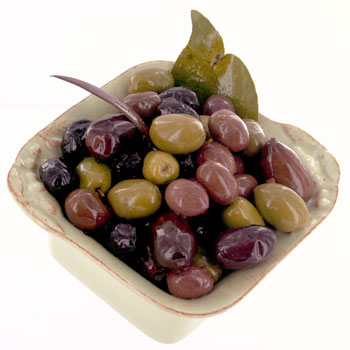Greek 5-Types Mixed Olives - 10oz, , large