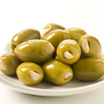 Garlic Stuffed Green Olives - 10oz