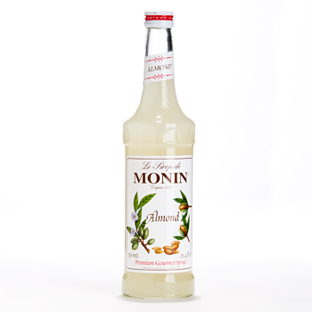 Monin Premium Gourmet Almond Syrup - 25.4 fl oz (Kosher), , large