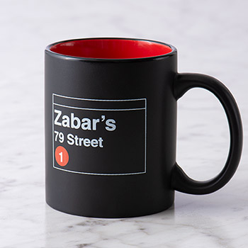 Zabar's 79th Street Subway Mug, , large