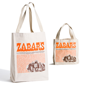 Zabar's Canvas Imprinted Tote Bag
