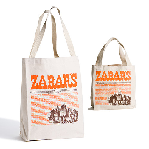 Zabar's Canvas Imprinted Tote Bag, , large