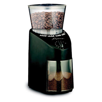 Capresso Infinity Conical Burr Grinder- Black #560, , large
