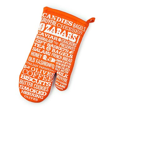 "Zabars Printed Oven Mitts - 6.5x12"", , large"