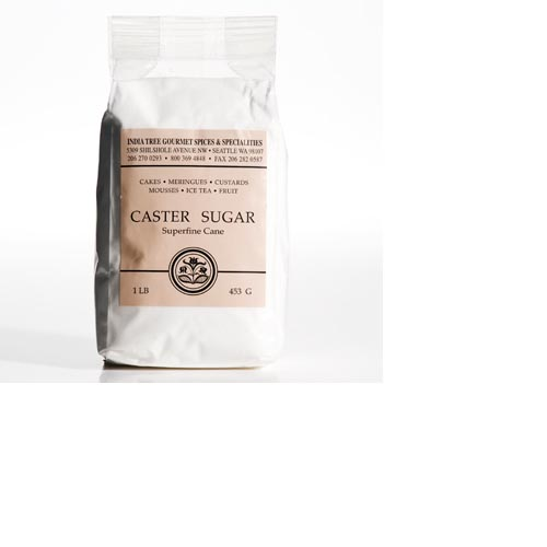 India Tree Caster Sugar Superfine Cane - 1lb, , large