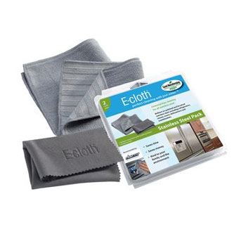 E-cloth Stainless Steel Cleaning Pads (Pack of 2) #10617