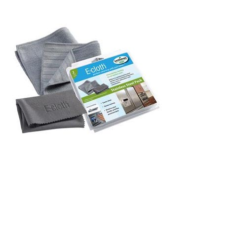 E-cloth Stainless Steel Cleaning Pads (Pack of 2) #10617, , large