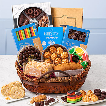 Zabars Passover Bakery Basket Kosher For