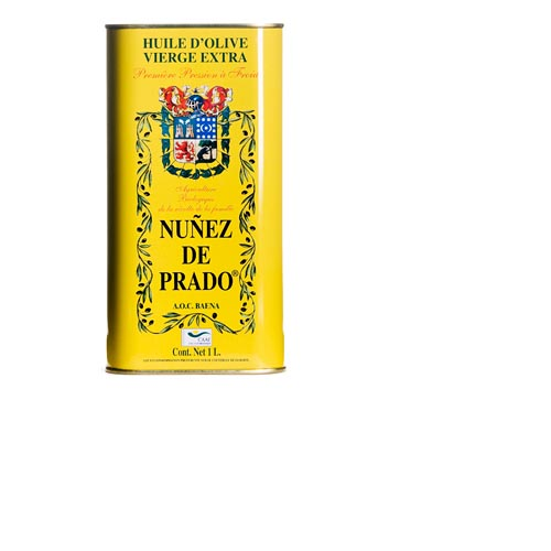 Nunez De Prado Extra Virgin Olive Oil - 33.8 oz Tin, , large