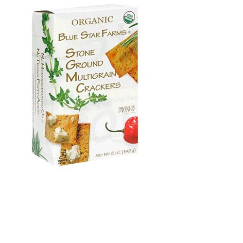 Organic Blue Star Farms Stone Ground Multigrain Crackers - 5oz (Kosher), , large