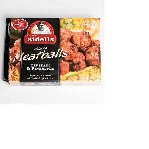 Aidells All Natural Teriyaki & Pineapple Chicken Meatballs - 12oz., , large
