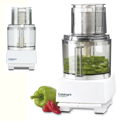 Cuisinart Pro Custom 11 Cup Food Processor White #DLC-8SY, , large