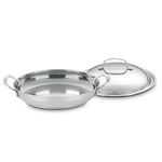 "Cuisinart Chef's Classic Stainless Steel 12"" Everyday Pan  #725-30D"