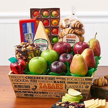 Zabar's Fruit & Treats Crate, , large