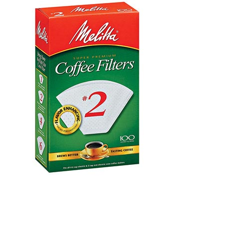 Melitta #2 Coffee Filters - (100ct.), , large