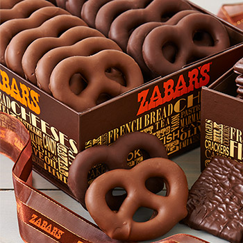 Zabar's Chocolate Covered Pretzels (Kosher), , large