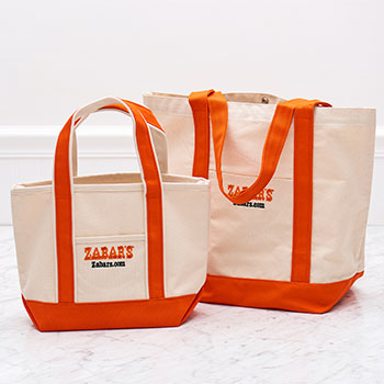 Zabar's Signature Canvas Tote Bag, , large