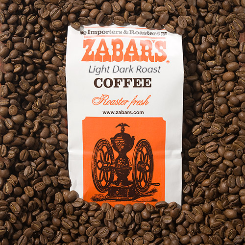 Zabar's Light Dark Roast - 16oz (Kosher), , large