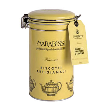Marabissi Tin with Ginger and Lemon Cookies, , large