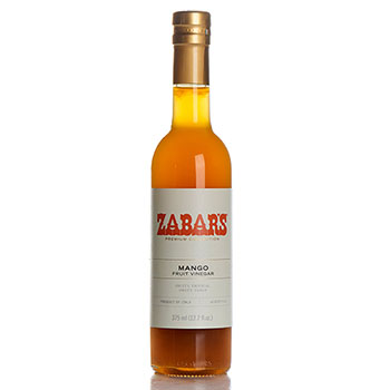Zabar's Premium Collection Mango Fruit Vinegar 12.7 fl. oz., , large