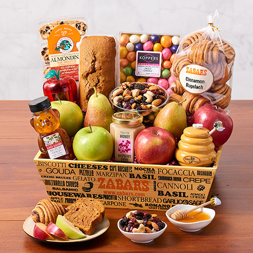 Apples and Honey Crate (Kosher), , large