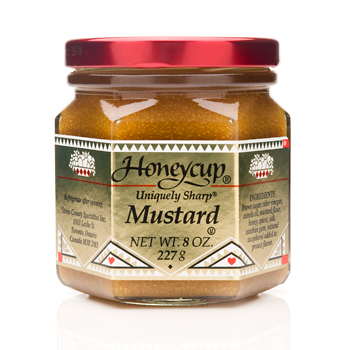 Honeycup Uniquely Sharp Mustard - 8oz, , large