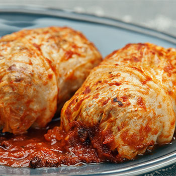 Vegetable Stuffed Cabbage by Zabar's - 2pcs, , large