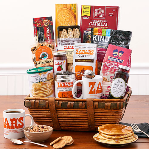 Zabars new york breakfast basket gift basket new york breakfast basket large negle