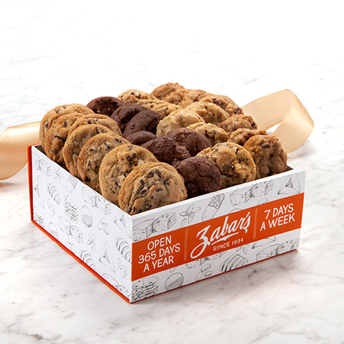 Zabar's Soft Bake Cookie Assortment Box - Approx. 32 oz. (Kosher), , large