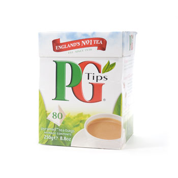 PG Tips Pyramid Tea Bags 80ct, , large